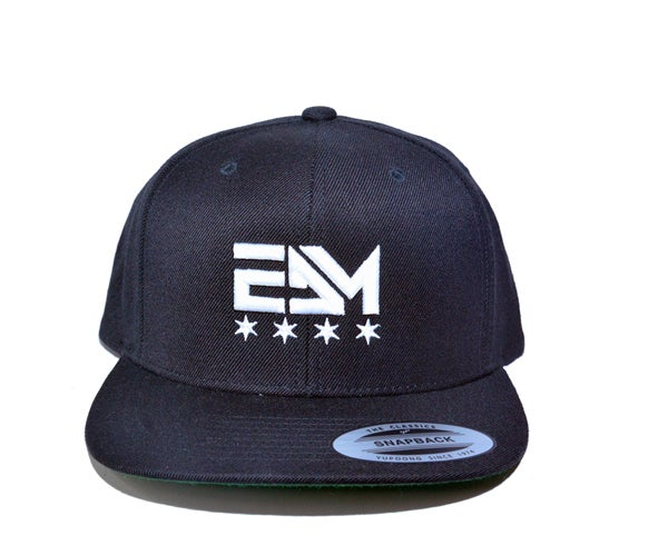 Image of 2017 EDM Chicago Snapback Hat (Black)