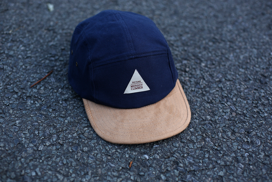 Image of Monkey Climber Sweet Suede 5 Panel Cap