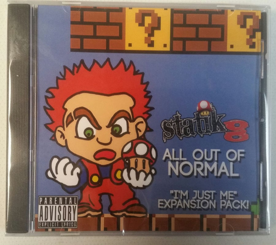 "Image of STATIK G: ALL OUT OF NORMAL  ""IM JUST ME "" EXPANSION PACK"