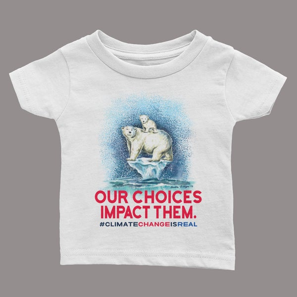 "Image of ""Climate Change is Real"" Kid's T-shirt"