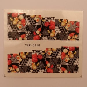Image of AZTEC / GEO FLORAL / ROSE / POP ART Decals
