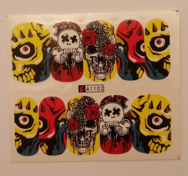 Image of Cool Skull Decals (4 designs)