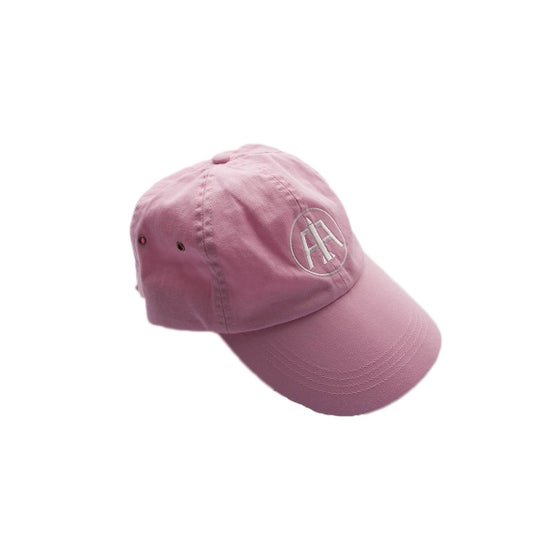 Image of Pink Logo Dad Hat