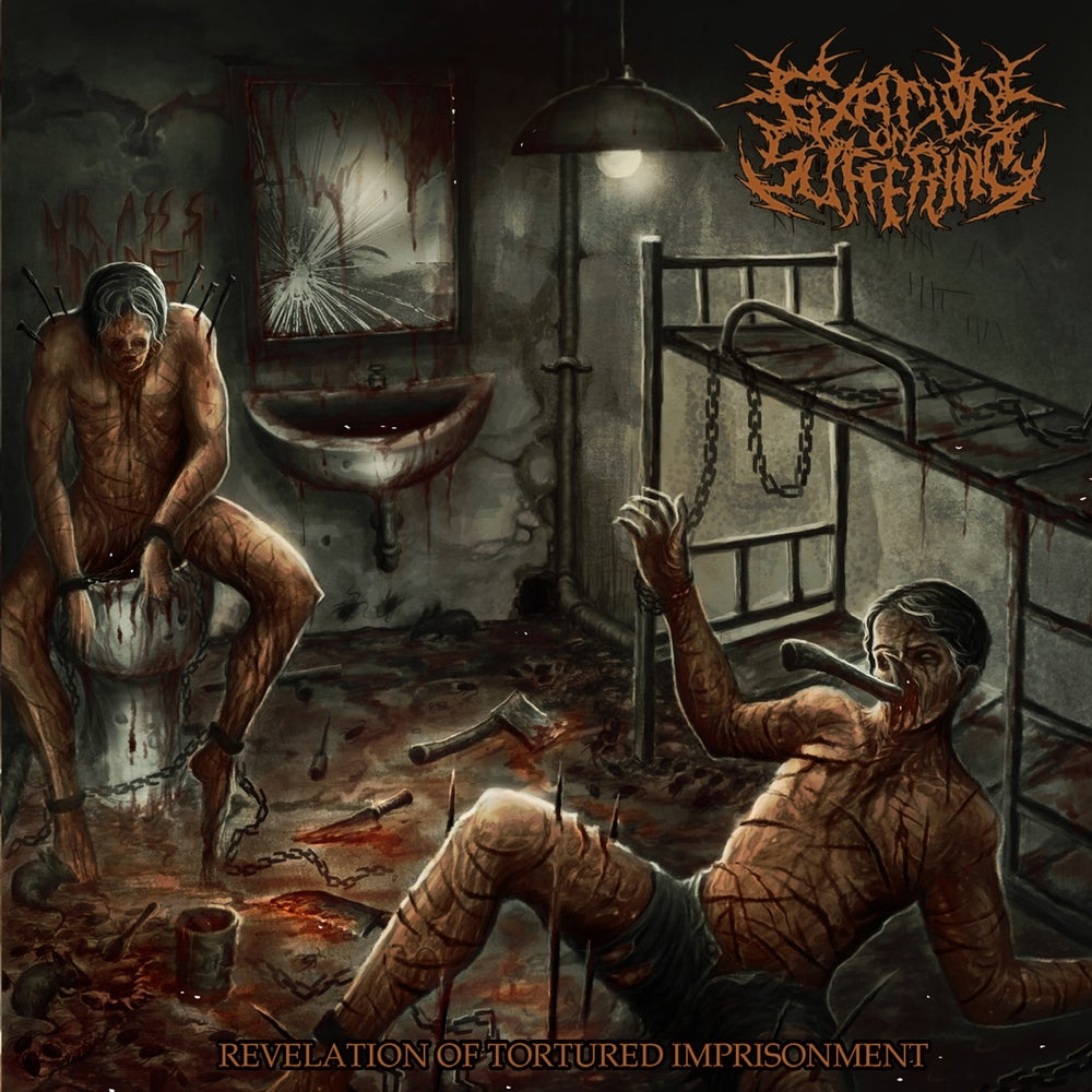 Image of FIXATION ON SUFFERING - Revelation Of Tortured Imprisonment CD [pre-order]