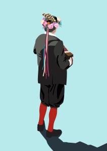 Image of Morris Dancer Giclee Print