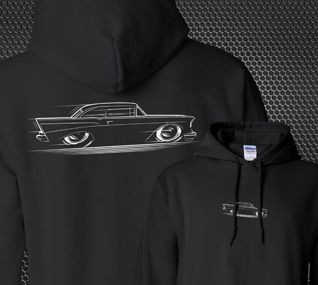 Image of '57 Chevy T-Shirts & Hoodies