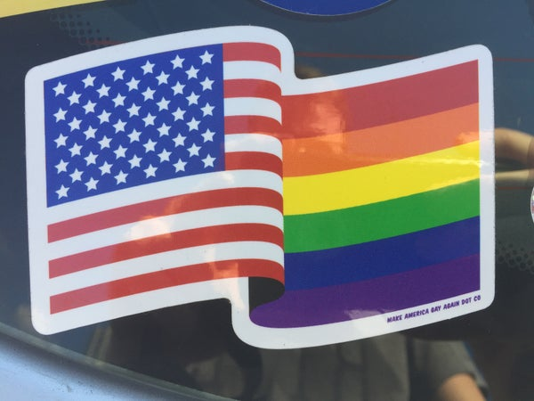 Image of American Pride Sticker(2 Pack)