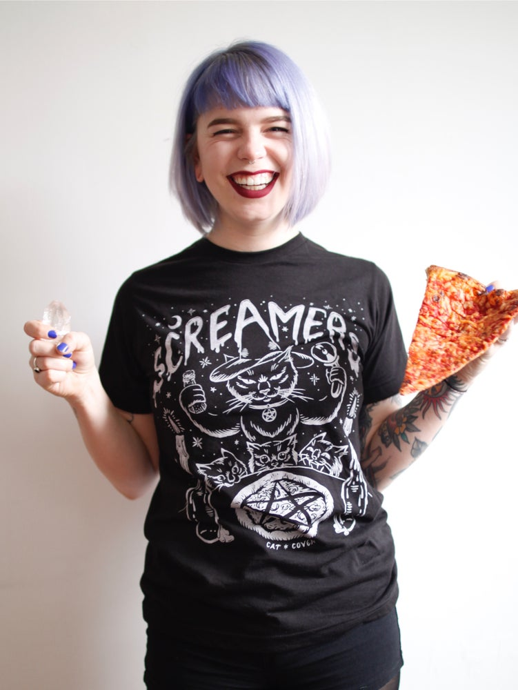Image of Pizza Altar collaboration with Cat Coven