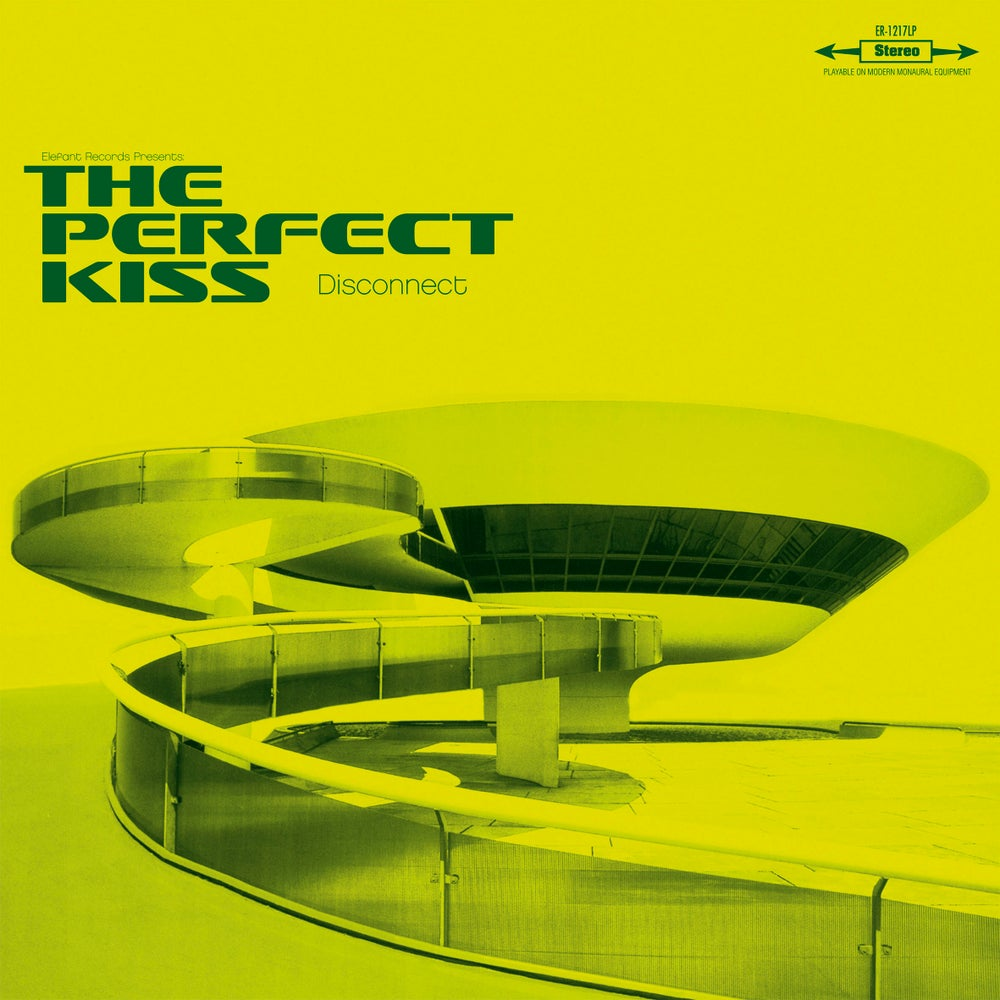 """Image of THE PERFECT KISS - Disconnect (Limited edition 10"""" green vinyl mini-LP)"""