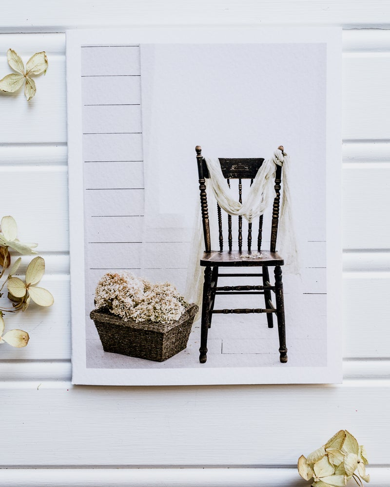 Image of Notecards-Chairs series