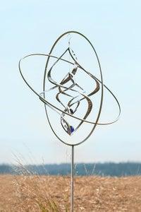 Image of Gyroskop St mit Glaskugel-Set