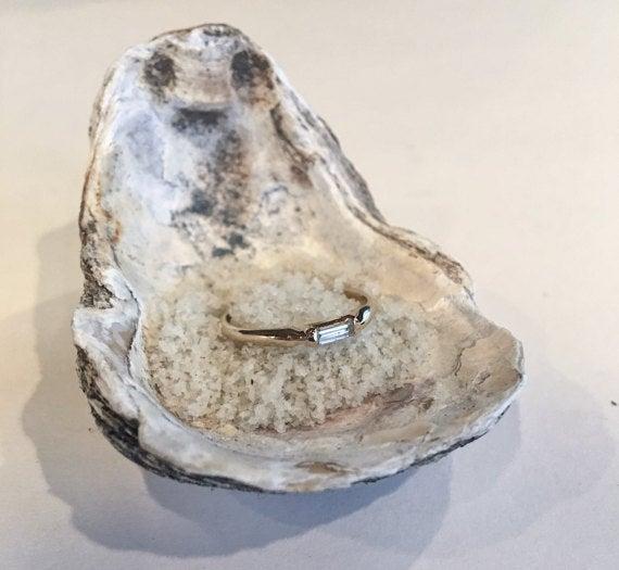 Image of Baguette Diamond Ring