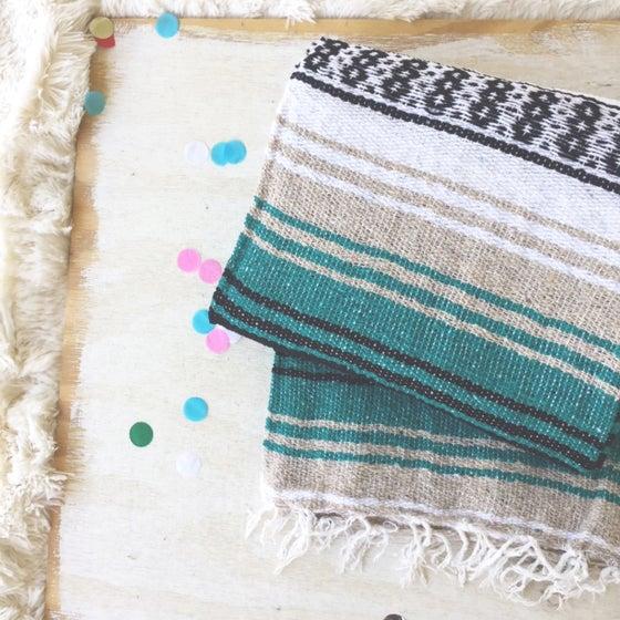 Image of COASTLINE - Mexican Baja Blanket