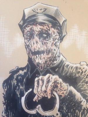 Image of Bio-cop original sketch