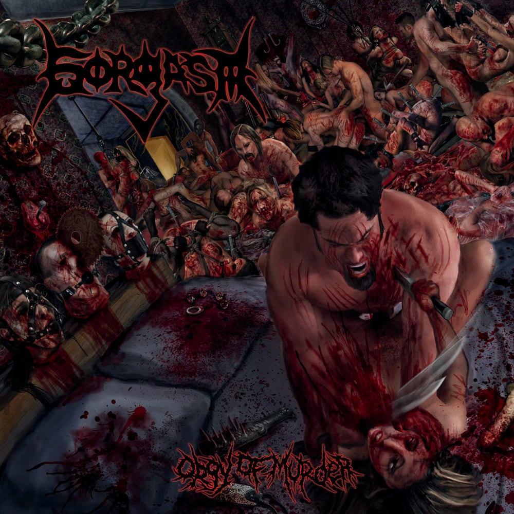 Image of GORGASM - Orgy Of Murder Slipcase-CD