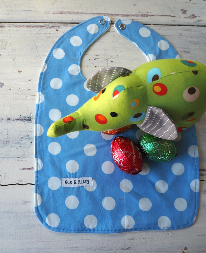 Image of Ed the Elephant and Easter Bib