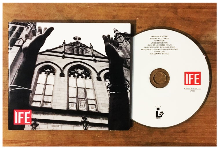 Image of NEW ÌFÉ Full Length CD IIII+IIII / plus free digital download