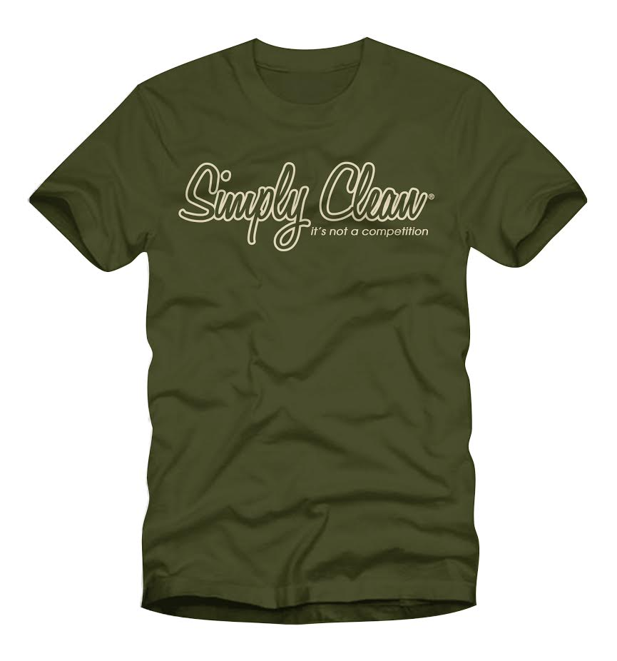 Image of Male Logo Tee… Olive/Cream