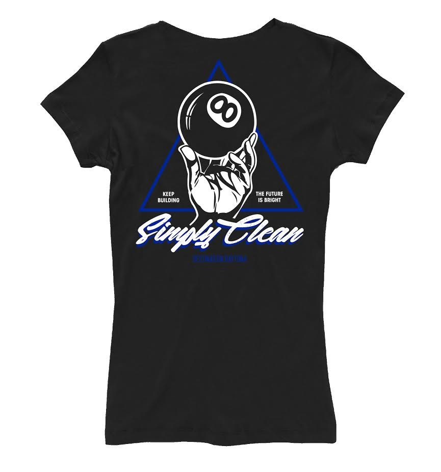 "Image of Female ""Simply Clean 8"" V Neck"