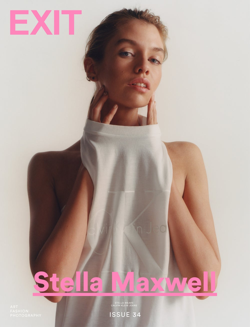 Image of EXIT MAGAZINE ISSUE 34 (STELLA MAXWELL COVER)