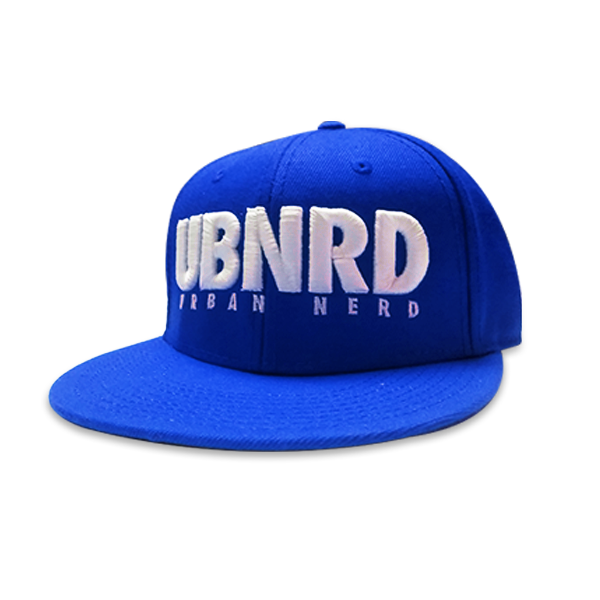 Image of Royal Blue - Urban Nerd ™ 6 - Panel snap back hat