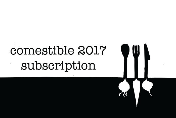 Image of Comestible 2017 Subscription