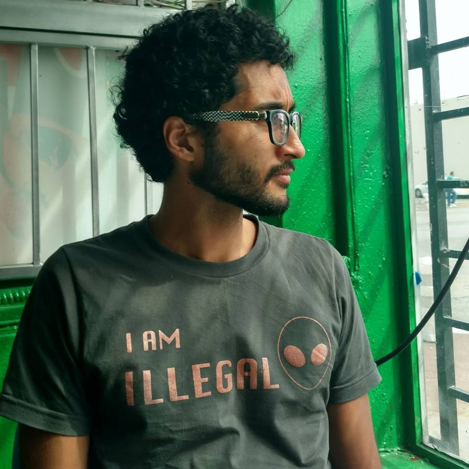 """Image of """"I am Illegal"""" Alien Tee"""
