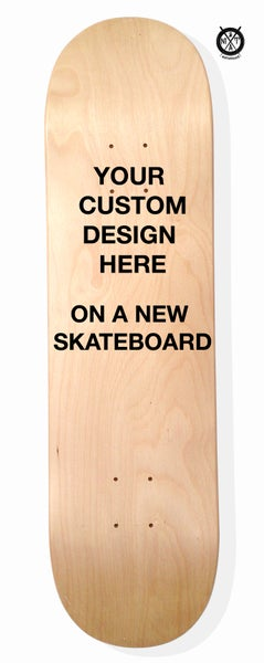 Image of Skate Art (Commision Artwork on a New Skateboard) by @matdisseny