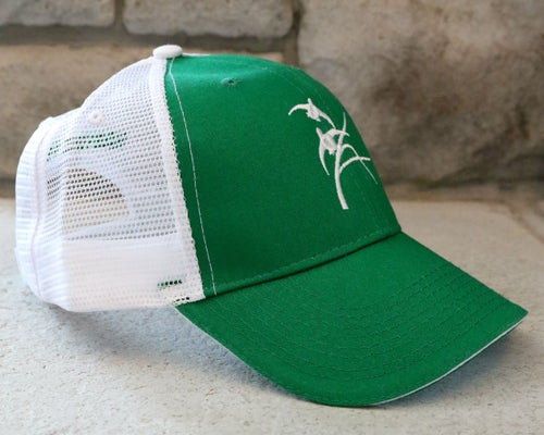 Image of Green & White Trucker Hat