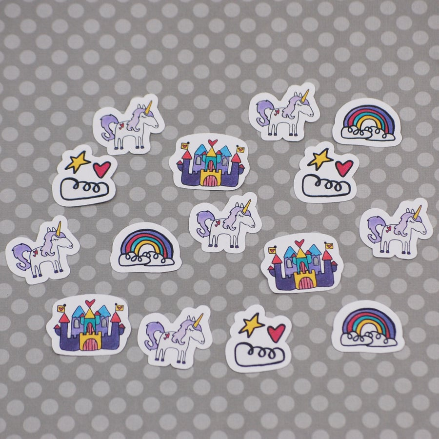 Image of Fairy Tale Mini Vinyl Sticker Pack