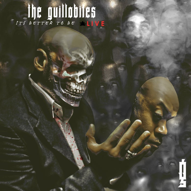 "Image of The Guillobites ""Its Better to be LIVE"" - CD/POSTER COMBO"