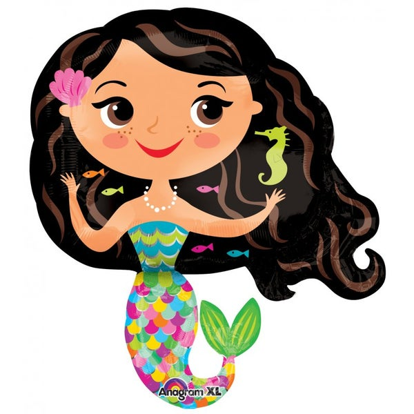 Image of {Happy Mermaid} Balloon