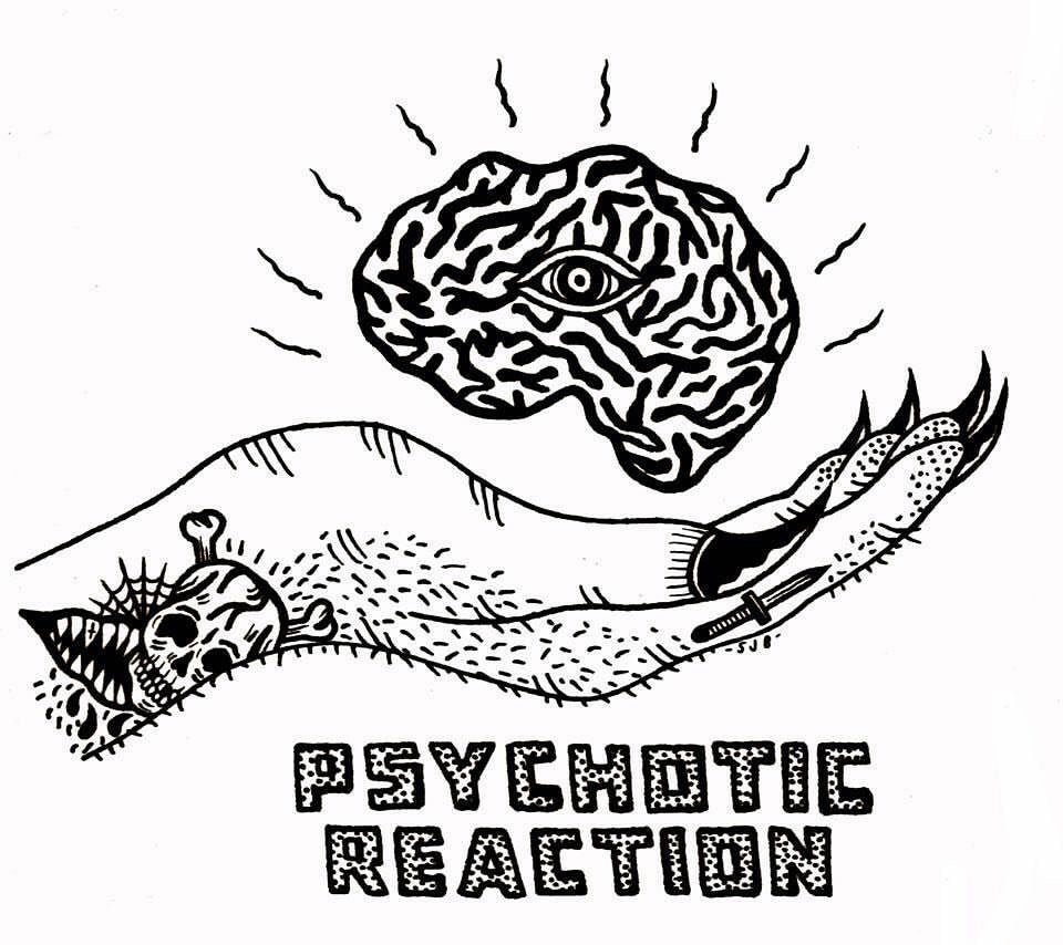 Image of PSYCHOTIC REACTION- DYING ON THE VINE