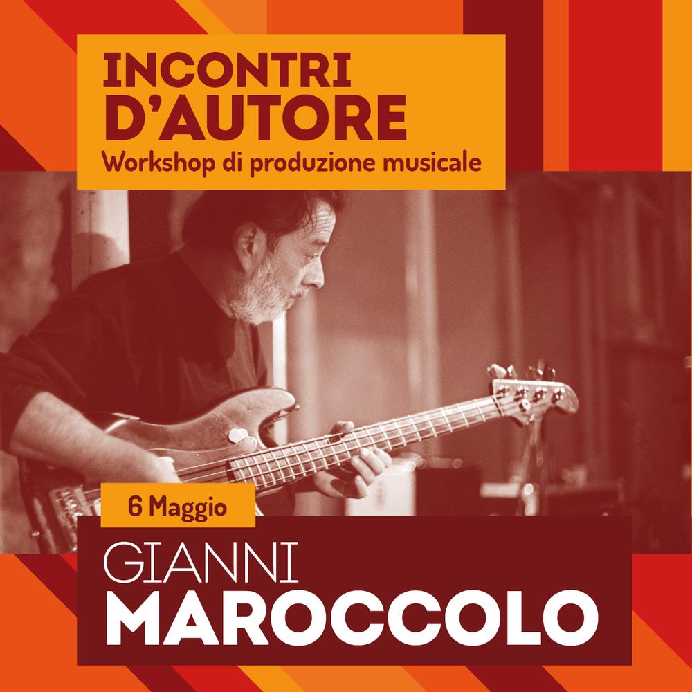 Image of Incontri d' autore - Gianni Maroccolo // Workshop di Produzione Musicale