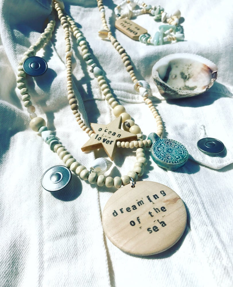 Image of DREAMING NECKLACE