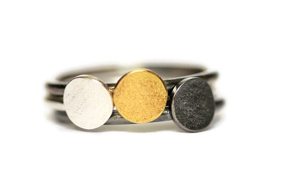 Image of Textured Stacking Rings