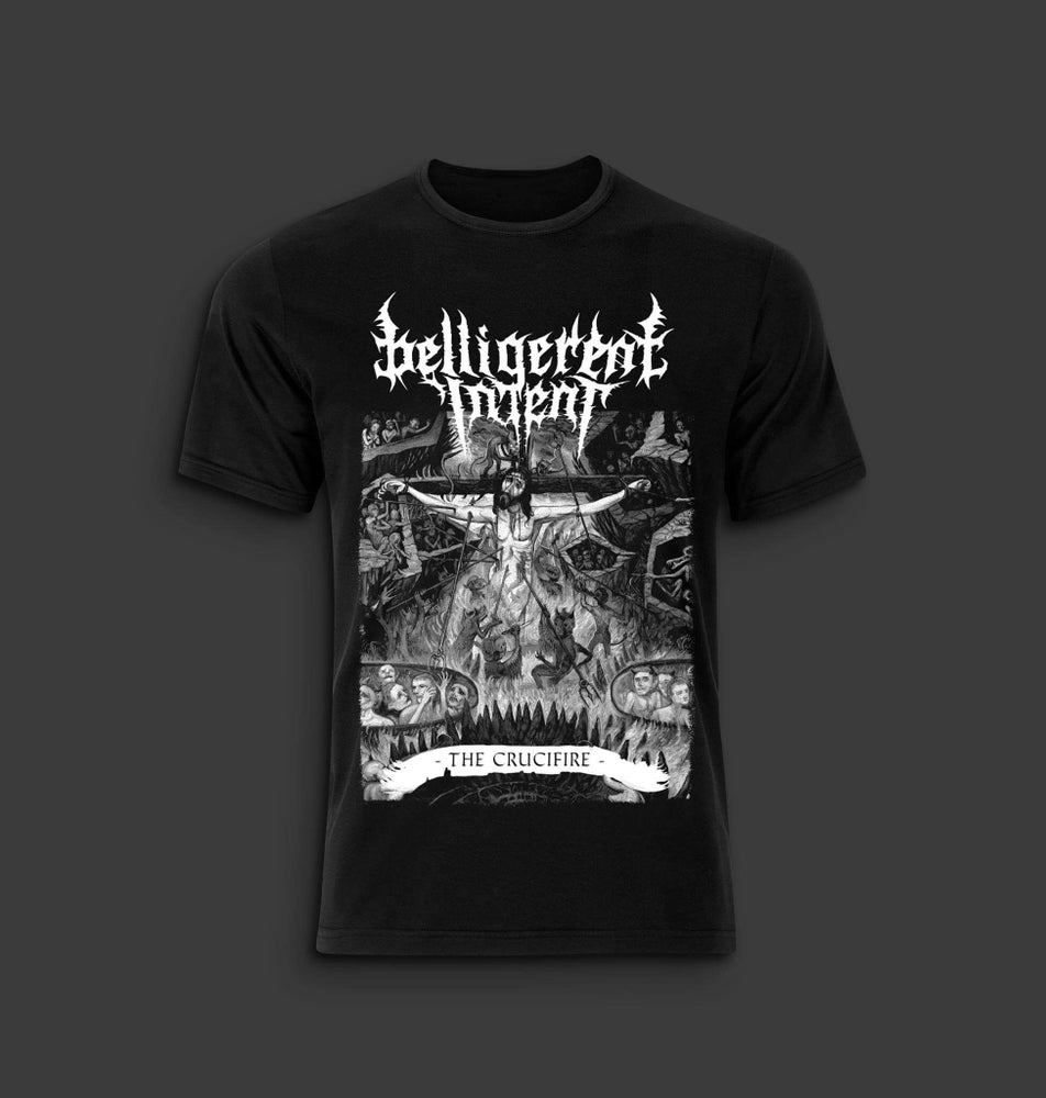 Image of The Crucifire T-Shirt (B&W)