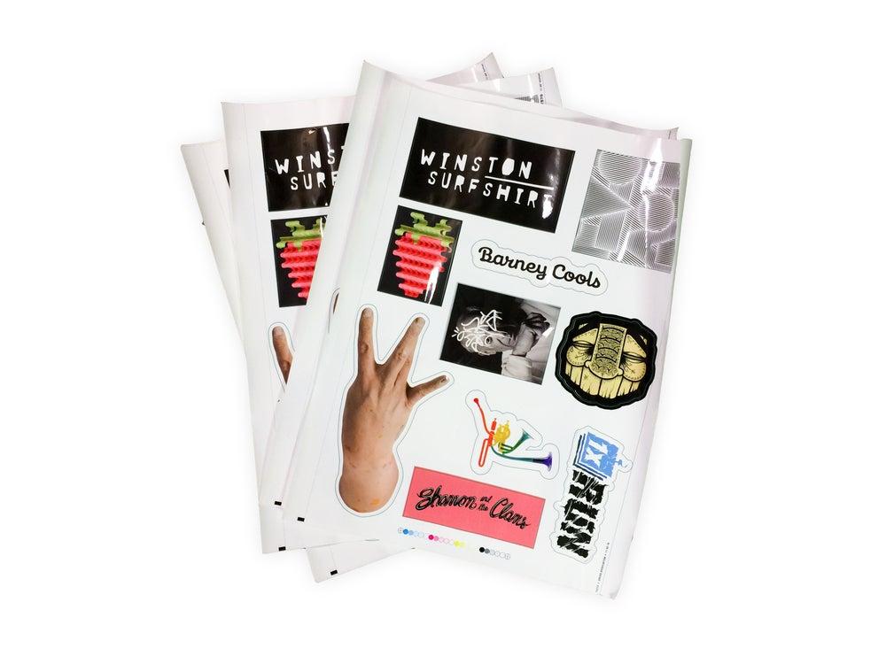 Image of VOL. 1 Sticker Press Sheet