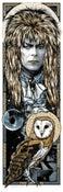 Image of LABYRINTH - GOBLIN KING OF KINGS - Jareth art print