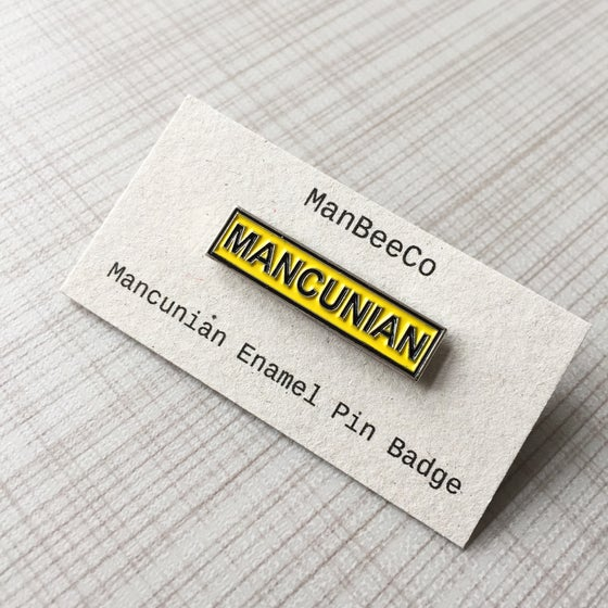 Image of Mancunian Manchester Enamel Pin Badge