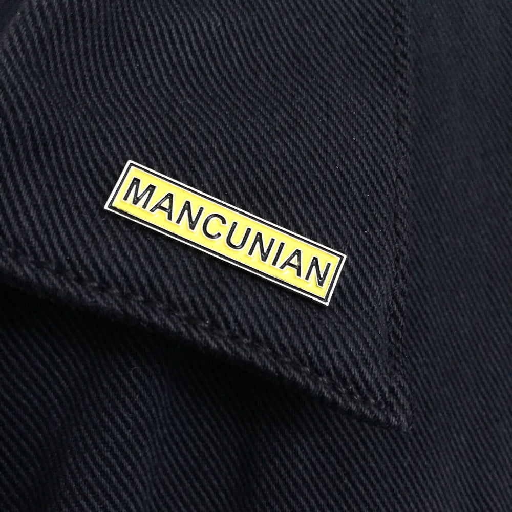 Image of Mancunian Manchester Enamel Pin Badge