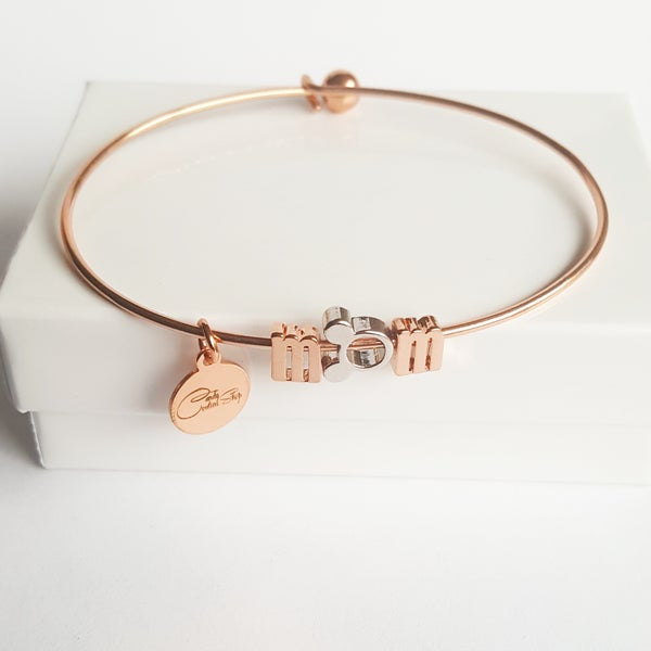 Image of Disney MOM bangle or necklace