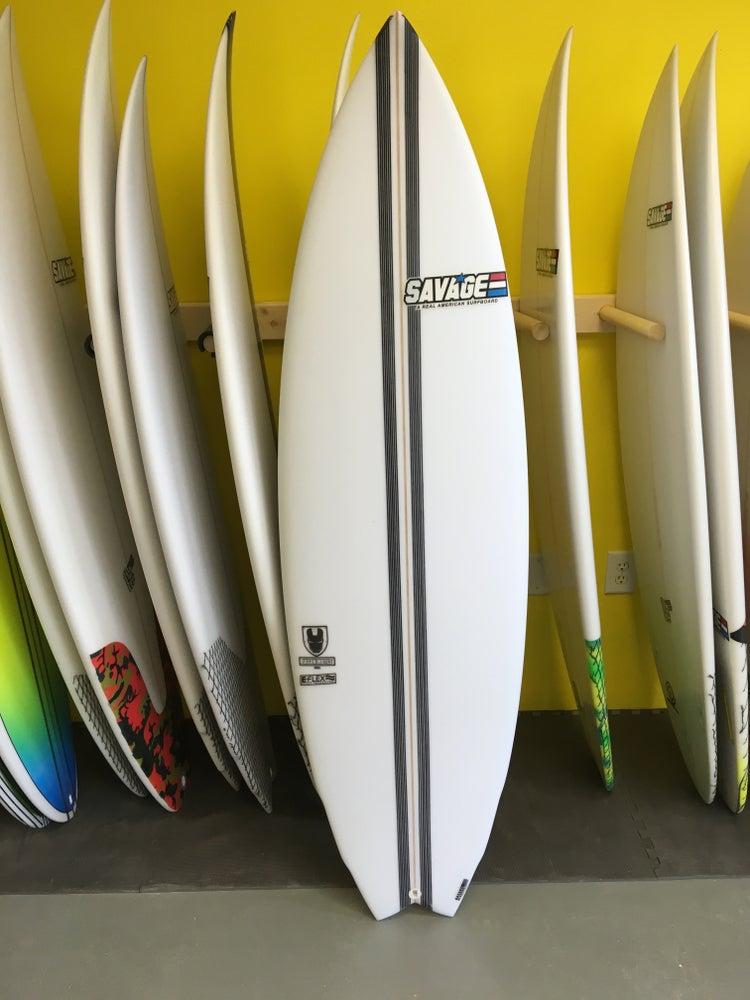 Image of Jason Motes Shortboard Model