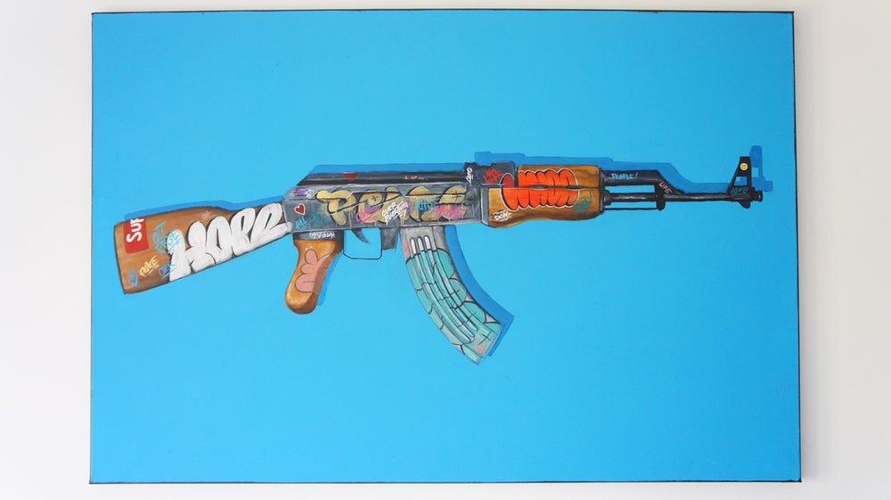 Image of MORE PEACE : LESS WAR *Original/Print'