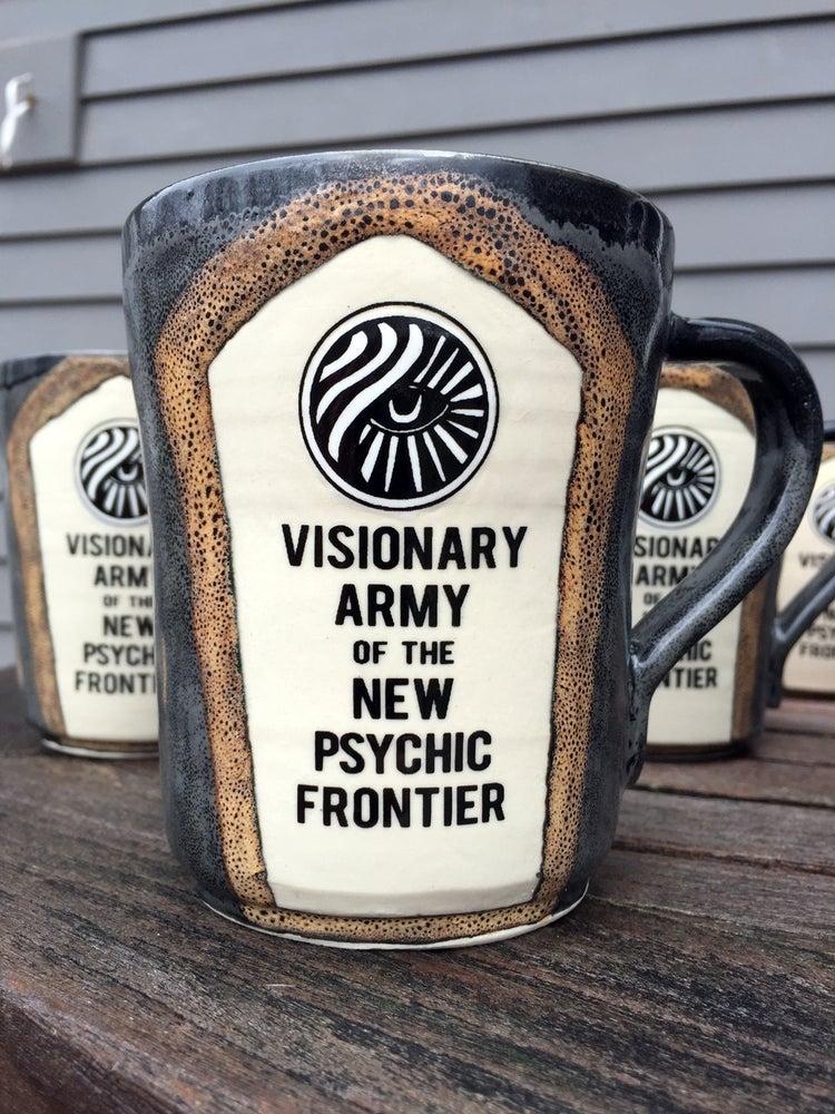Image of Visionary Army Hand Thrown Stoneware Ceramic Mug