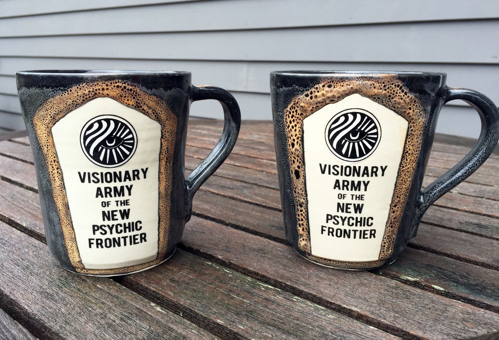 Image of Visionary Army Hand Thrown Stoneware Ceramic Mug