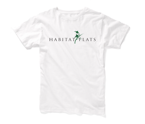 Image of Habitat Flats White T-Shirt