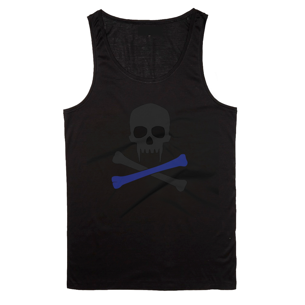 Image of Sonkei Blue Logo Tank Top and T-Shirt