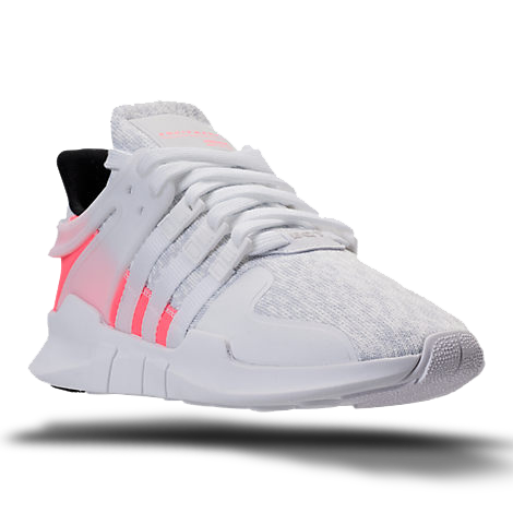adidas Men's EQT Support ADV (Black White) KicksUSA