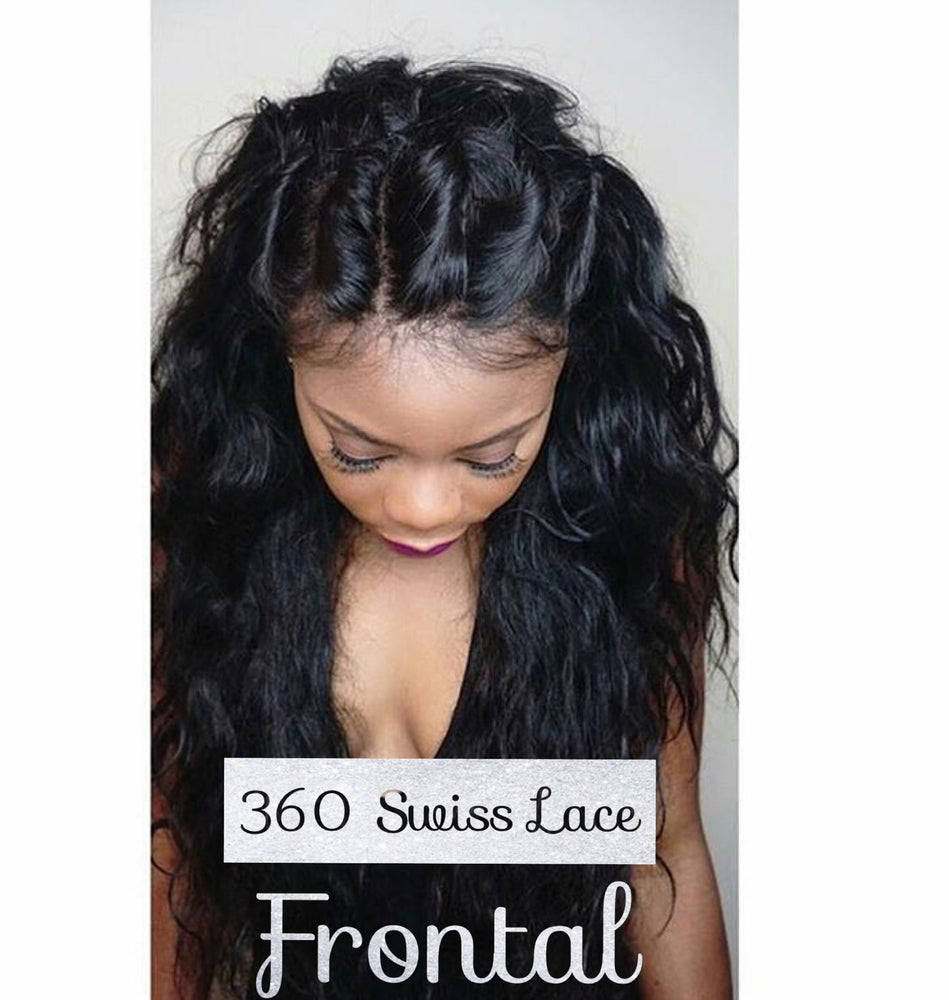 Image of 360 Swiss Lace Frontal